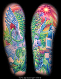 organic designs tattoo galleries entangled dove design