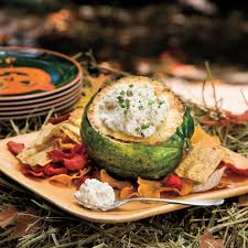 appetizer halloween onion bacon dip recipe myrecipes