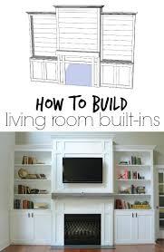 Homey Ideas Built Ins For Living Room Fine Design Family Room - Family room built in cabinets
