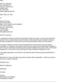 sample volunteer cover letter inspirational cover letter for