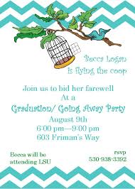farewell party invitations templates virtren com