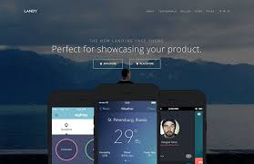 landing page templates for blogger 25 best mobile app software showcase and landing page wordpress
