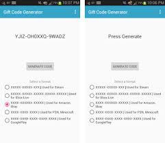 gift card generator apk gift code generator apk version 1 3