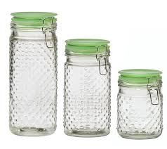 glass kitchen canister sets global amici hobnail 3 kitchen canister set reviews