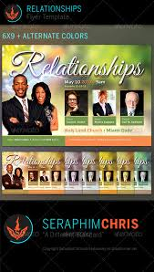 relationships church flyer template by seraphimchris graphicriver