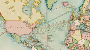 Undersea Cable Map Infographic The 550 000 Miles Of Undersea Cabling That Powers The