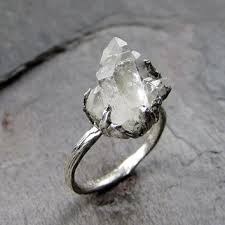 rings with crystal images Best rough crystal rings products on wanelo jpg