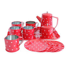 Kitchen Set Toys For Girls 50 Off Bissport Tin Tea Set Toy U2013tea Kitchen Playset For Kids Girls