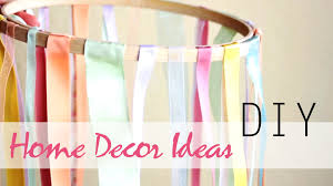Easy Home Decor Diy 3 Easy Summer Home Decor Ideas Youtube