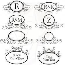 Catholic Wedding Program Cover Monogram Wedding Program Clipart Free Monogram Wedding Program