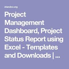 Excel Templates For Construction Project Management Best 25 Project Management Dashboard Ideas On Tes