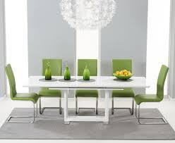 Black Gloss Dining Room Furniture High Gloss White Dining Chairs Osaka White High Gloss Extending