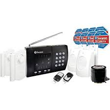 swann wireless home alarm system 2 remote controls
