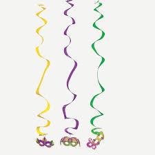 large mardi gras 6 large mardi gras dangling swirls orientaltrading ideas