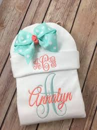 Monogram Baby Items 21 Best Personalized Baby Items Images On Pinterest Baby Items