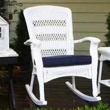 Swivel Wicker Patio Furniture by Outdoor Wicker Rocking Chairs Wickercentral Com