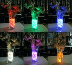 submersible led tea lights contemporary submersible led vase lights multi color submersible led