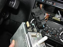 how to remove headunit from 94 bmw 325i