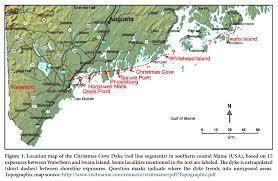 Map Of Maine Usa by The Christmas Cove Of Coastal Maine Usa And Regional
