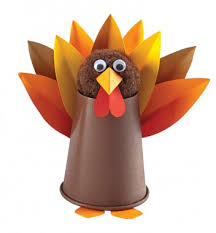 5 and easy thanksgiving crafts