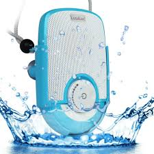 Bluetooth Speakers For Bathroom Lugulake Waterproof Shockproof Shower Speaker With Hands Free Mic