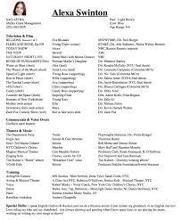 Resume Accent Mark Resume U2014 Alexa Swinton