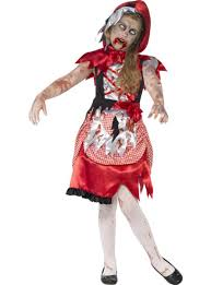 zombie little red riding hood costume