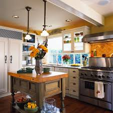 country kitchens with islands cool white country kitchens with