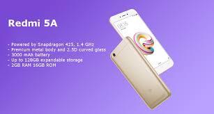 Xiaomi Redmi 5a Xiaomi Redmi 5a Global Edition 5 0 Inch 2gb Ram 16gb Rom