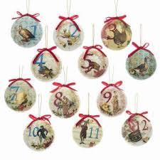 12 days of christmas ornaments twelve days of christmas kurt s adler