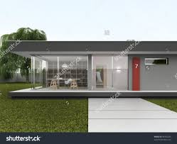 home design front yard of very modern house bungalow design