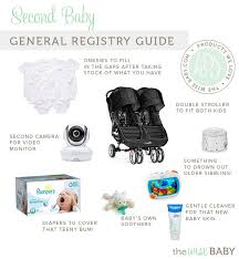 baby registrys second baby registry guide the wise baby