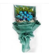 blue roses delivery blue roses seasonflora online florist shops in singapore