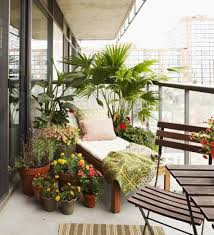 home design and decor balcony decoration with potted plants