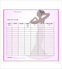Destination Wedding Itinerary Template Free Excel Wedding Planning Checklist Templatewedding List Free