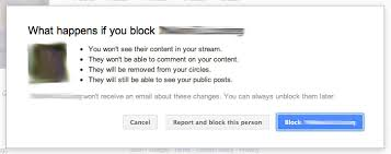 How To Block Be Like - five steps to configuring privacy on google plus branded clever