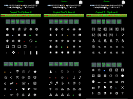 android symbol meanings unicode icons special symbols 2 6 apk android tools