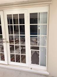 patio doors french windows aka doors long sash hinged to the wood