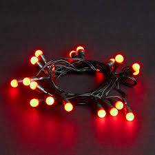 20 battery operated led berry lights robert dyas