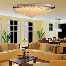 light for living room ceiling oofay light 24 g4 modern crystal ceiling light creative crystal
