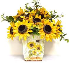 silk sunflowers 149 best floral arrangements images on