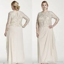 2015 modest mother off bride dresses elegant plus size dress for