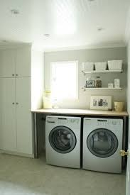 table over washer and dryer inspiring laundry room spaces ikea table dryer and washer