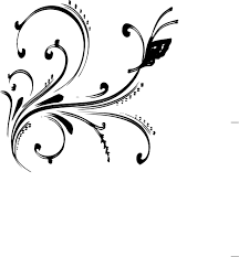 free border design black and white butterfly free clip
