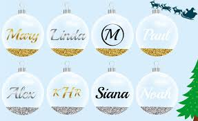 personalised ornament baubles snuggles
