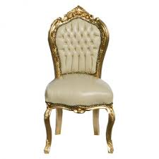 polster stühle esszimmer lederstuhl esszimmer barock möbel retro stühle beige vergoldeter