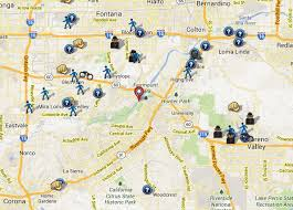 riverside map riverside county ca crime map spotcrime the s crime map