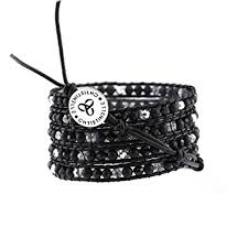 leather wrap bracelet women images Christinelle leather wrap bracelet beaded bracelets jpg