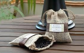 small burlap bags coffee wedding favors inside burlap bags used burlap coffee bags