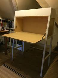 Ikea Ps 2014 White Computer Desk Bureau In Chippenham Ikea Bureau